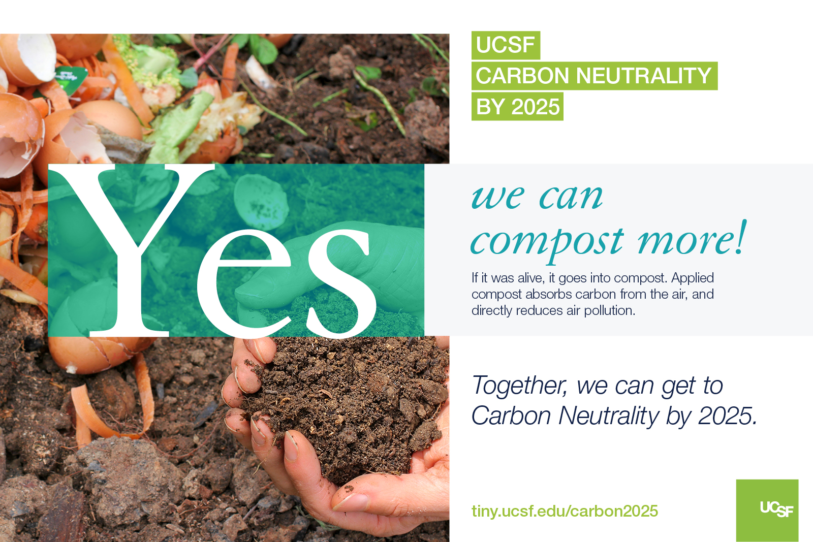 We can compost more