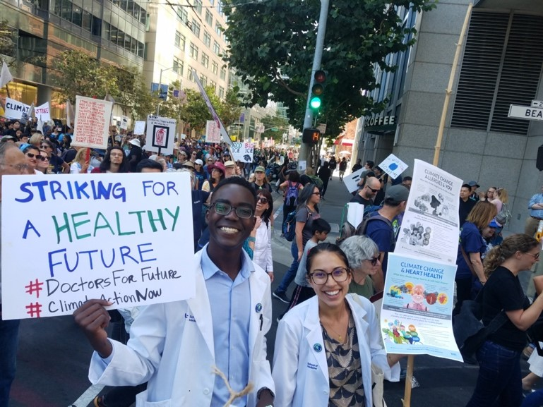 climate striking for a healthy future