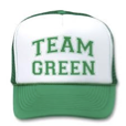 Team green hat